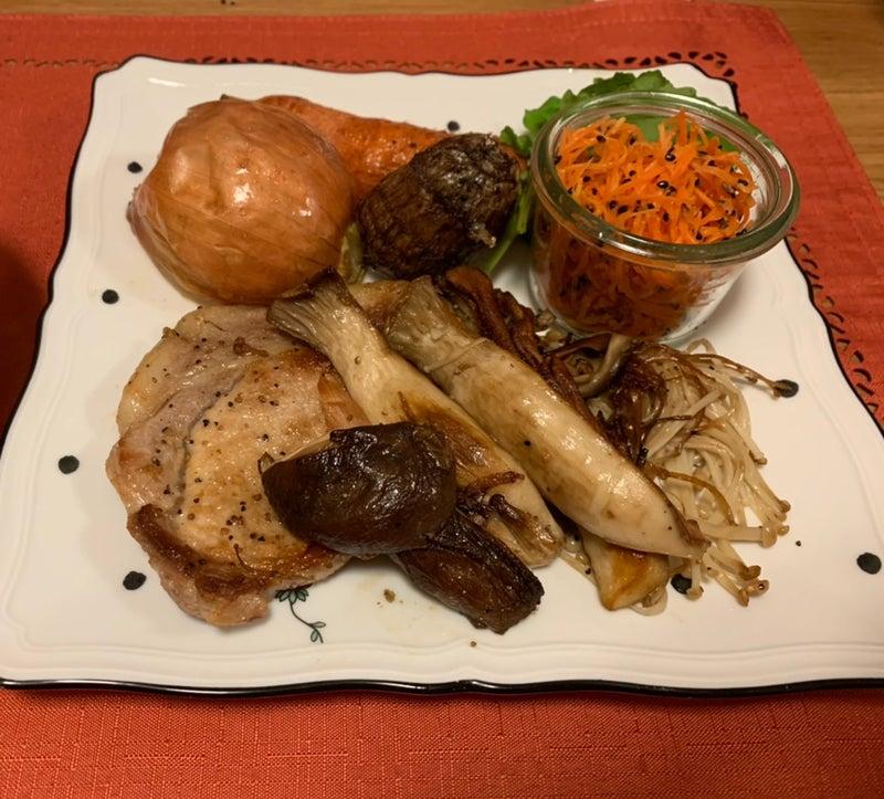 私の好きな英語と食べ物と by ぱんじタサン志麻さんのきのこと豚肉のソテー & 第三波の病院通い