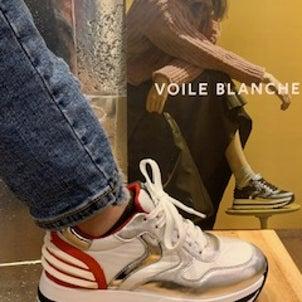 VOILE BLANCHE スニーカー紹介の画像