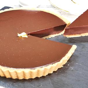 【失敗しない】 焼かない生チョコタルトの作り方の画像