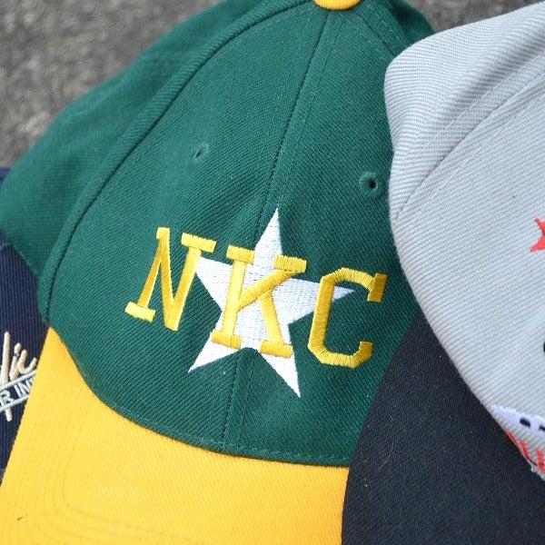 2色使いツートンキャップUSED帽子@古着屋カチカチ