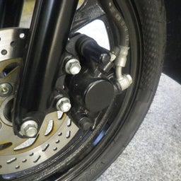 画像 スズキ アドレス110 CE47A ブレーキパッド交換 バイク 修理 名古屋市港区 の記事より 2つ目