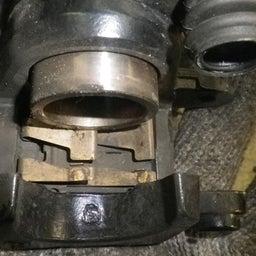 画像 スズキ アドレス110 CE47A ブレーキパッド交換 バイク 修理 名古屋市港区 の記事より 4つ目