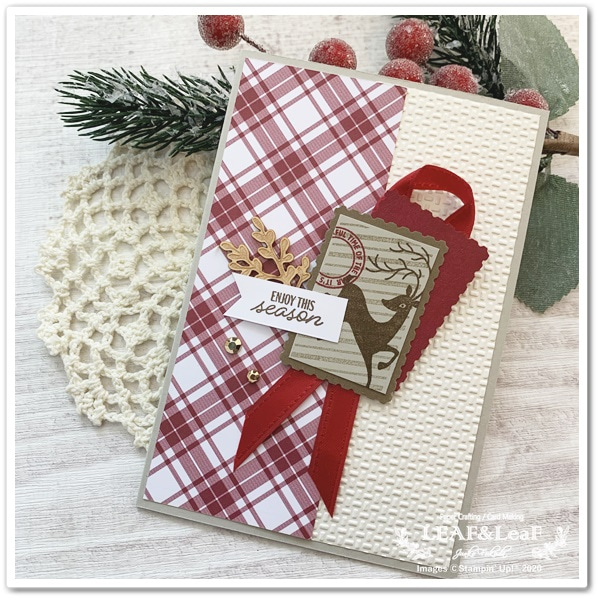 手作り クリスマスカード