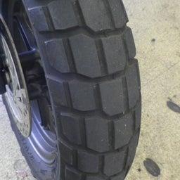 画像 ホンダ エイプ タイヤ交換 タイヤパンク タイヤひび割れ バイク 修理 名古屋市港区 の記事より 2つ目
