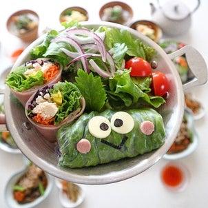 野菜たっぷり生春巻き* 〜キレイなお肌に戻る宣言〜の画像