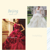 ドレスに合わせたウエディングブーケ制作の画像