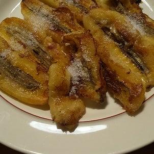 初! 焼きバナナ 作ってみましたの画像