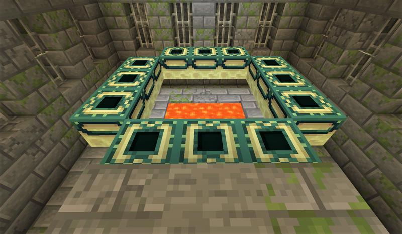 地下 要塞 マイクラ エンドポータルが見つからない人用に要塞掘り抜いてみた!ポータルの深さの平均は?