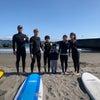 魚だらけに大興奮ッッ♫丸ごと楽しい海遊びなサーフィンスクール〜!!の画像