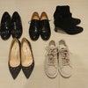 秋冬の一軍靴を並べてみた。の画像