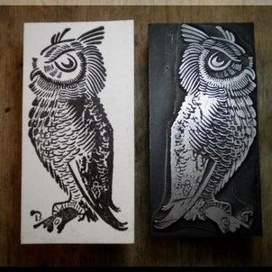 木製台座メタルスタンプ~鉛の生き物図鑑・鳥類編~というか脱線編~の画像