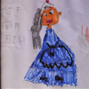 5歳児から絵のプレゼントの画像