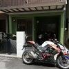 バイク水洗い洗車の画像
