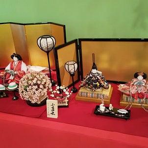 駿河雛具雛人形と日本三大つるし飾り展。の画像