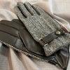 ハリスツイードの生地を使用した手袋、入荷しましたの画像