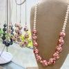 バラ模様のポリマークレイ レッスンの画像