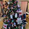 クリスマスツリー飾りましたの画像