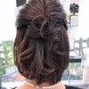 結婚式アレンジヘア♡の画像