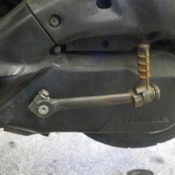 画像 ホンダ ライブディオZX ベルト切れ ベルト交換 バイク 修理 名古屋市港区 の記事より 2つ目