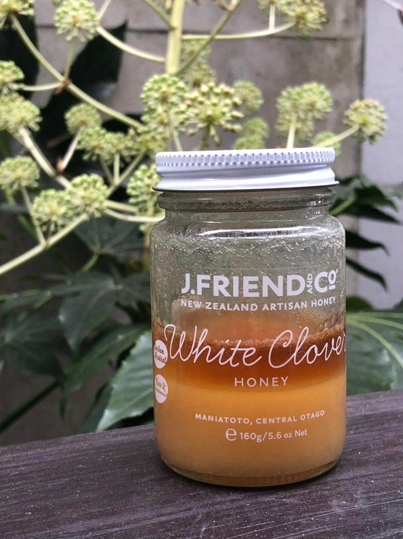 J.F.ホワイトクローバーハニー 蜂蜜 はちみつ