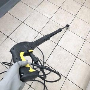 【1日1箇所大掃除】高圧洗浄機を2階でも使う方法の画像