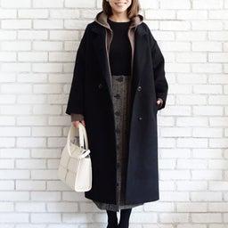 画像 ニットパーカーとニットジャケットのコーデをご紹介〜!(^ ^)♪ の記事より 2つ目