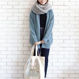 画像 ニットパーカーとニットジャケットのコーデをご紹介〜!(^ ^)♪ の記事より 13つ目