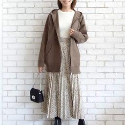 画像 ニットパーカーとニットジャケットのコーデをご紹介〜!(^ ^)♪ の記事より 5つ目