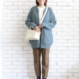 画像 ニットパーカーとニットジャケットのコーデをご紹介〜!(^ ^)♪ の記事より 11つ目