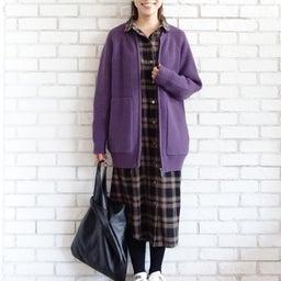 画像 ニットパーカーとニットジャケットのコーデをご紹介〜!(^ ^)♪ の記事より 18つ目