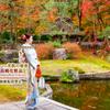 銀座ママ大人の振袖♡振袖を着てパワースポット巡り♡銀座ママの幸せ習慣 秋の京都を満喫の画像