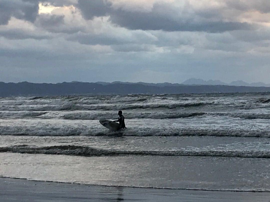 初めての稲佐の浜