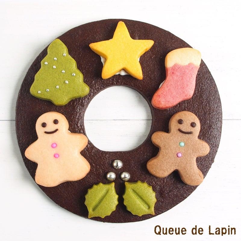 クリスマス リースクッキー