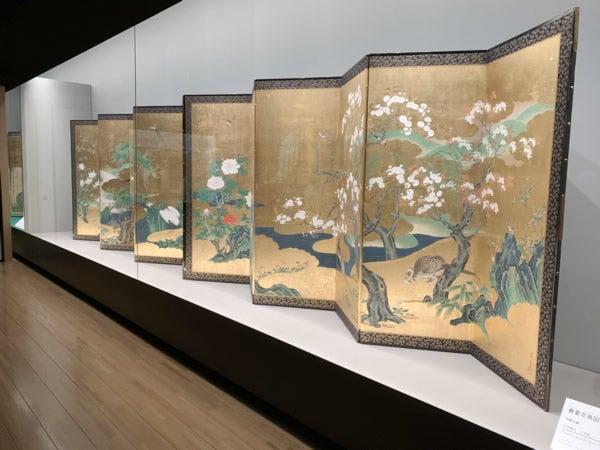 屏風 狩野永納 日本美術の裏の裏 サントリー美術館