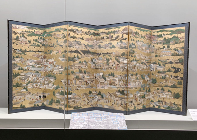 屏風 京の都 日本美術の裏の裏 サントリー美術館