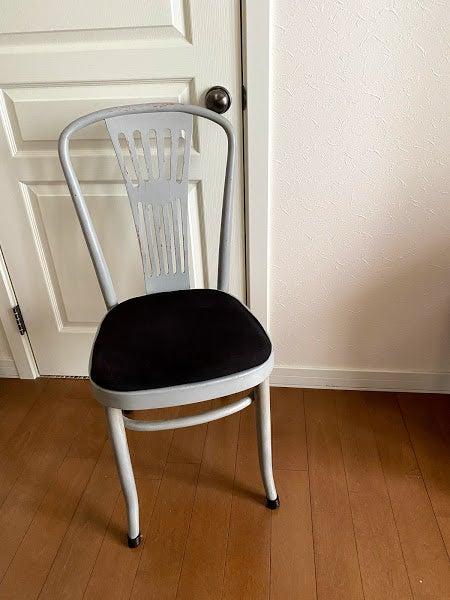 張り替え 面 椅子 座 椅子の修理事例