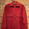 Vintage 60's zip up wool jacket (BRENT)の画像