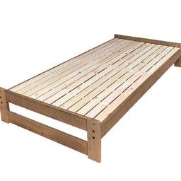 画像 新商品『国産ひのき無垢材のシンプルすのこベッド「sohno‐リゲル」』 の記事より 1つ目
