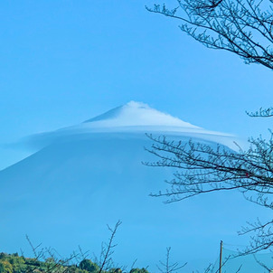 傘富士の画像