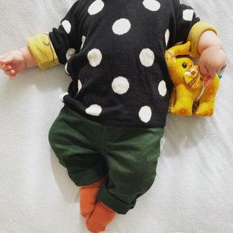 4ヶ月■息子の秋コーデ