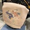 【ふだんから着物】黒い小紋に唐子名古屋の画像