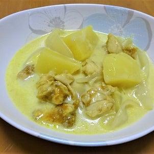 ささ身カレー風味クリーム煮のレシピブログの画像