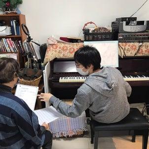 ジャズピアノワークショップ 枯葉5回目 アプローチを学びましたの画像