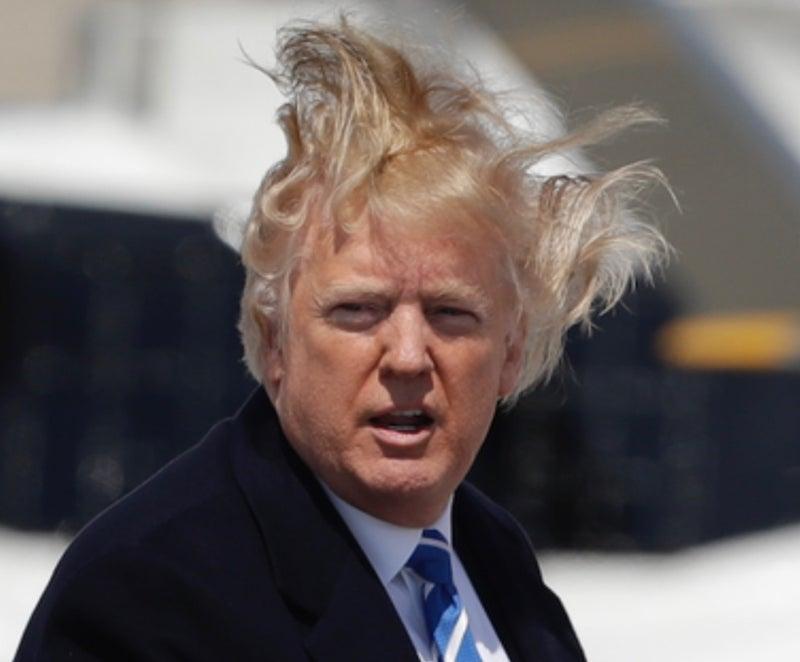 髪型 ジョンソン 首相