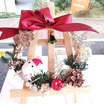 【お家時間をたのしもう】家族でワクワク♪みんなで手作りしたクリスマスリースどこに飾りますか?