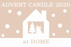 ADVENT CANDLE 2020 at HOME