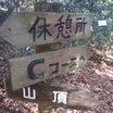 吉祥山(Aコース)② Cコース分岐~山頂【愛知県豊橋市】
