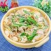 5分で完成!豆腐と豚バラもやしのごま味噌おかずスープ♪の画像