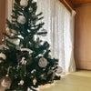 THE昭和なツリーが素敵になった素敵な100均オーナメント♪の画像