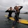 友達と一緒にサーフィンしたらスーパー楽しいのだー♫の画像